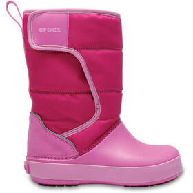 Crocs LodgePoint Talvikengät Lapset, candy pink/party pink